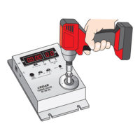 DI-4B-25 torque tester with impact driver