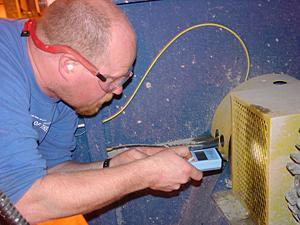 LED stroboscope inspection