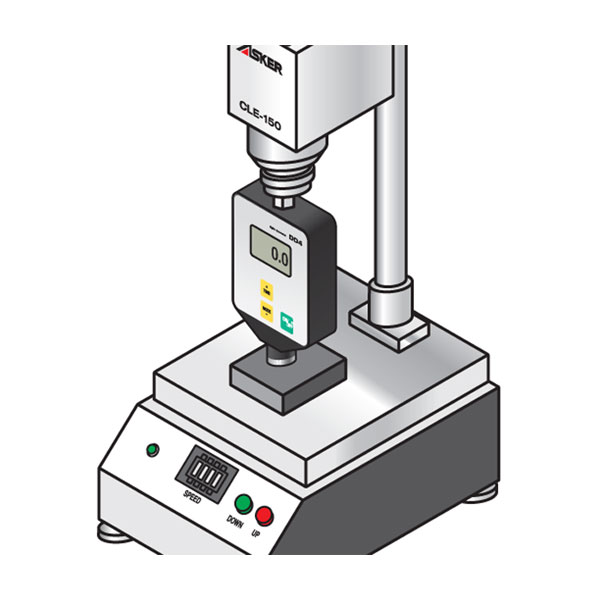 D4 Digital Plastic & Rubber Hardness Tester