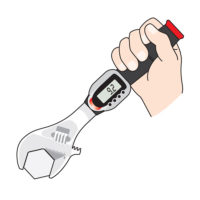 Digital Adjustable Torque Wrench