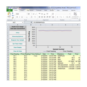 SW-1A-D4 Hardness Data Acquisition Software