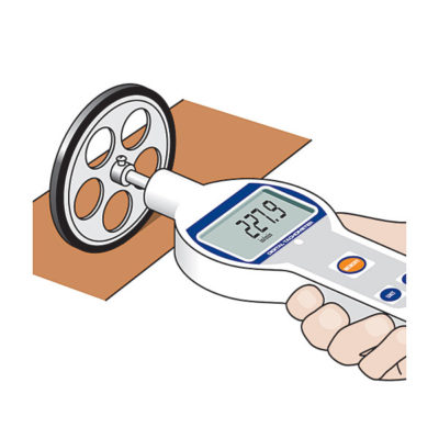 ELM-2000 digital surface speed meterapplication