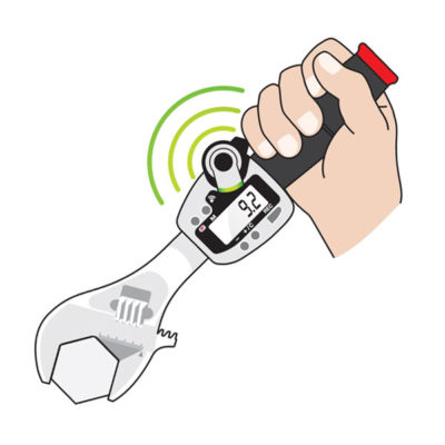 Wireless Adjustable Torque Wrench application
